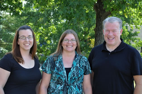 BMS Office Staff - Christina Stevens, Karol Dinwiddie, and Thomas Thompson
